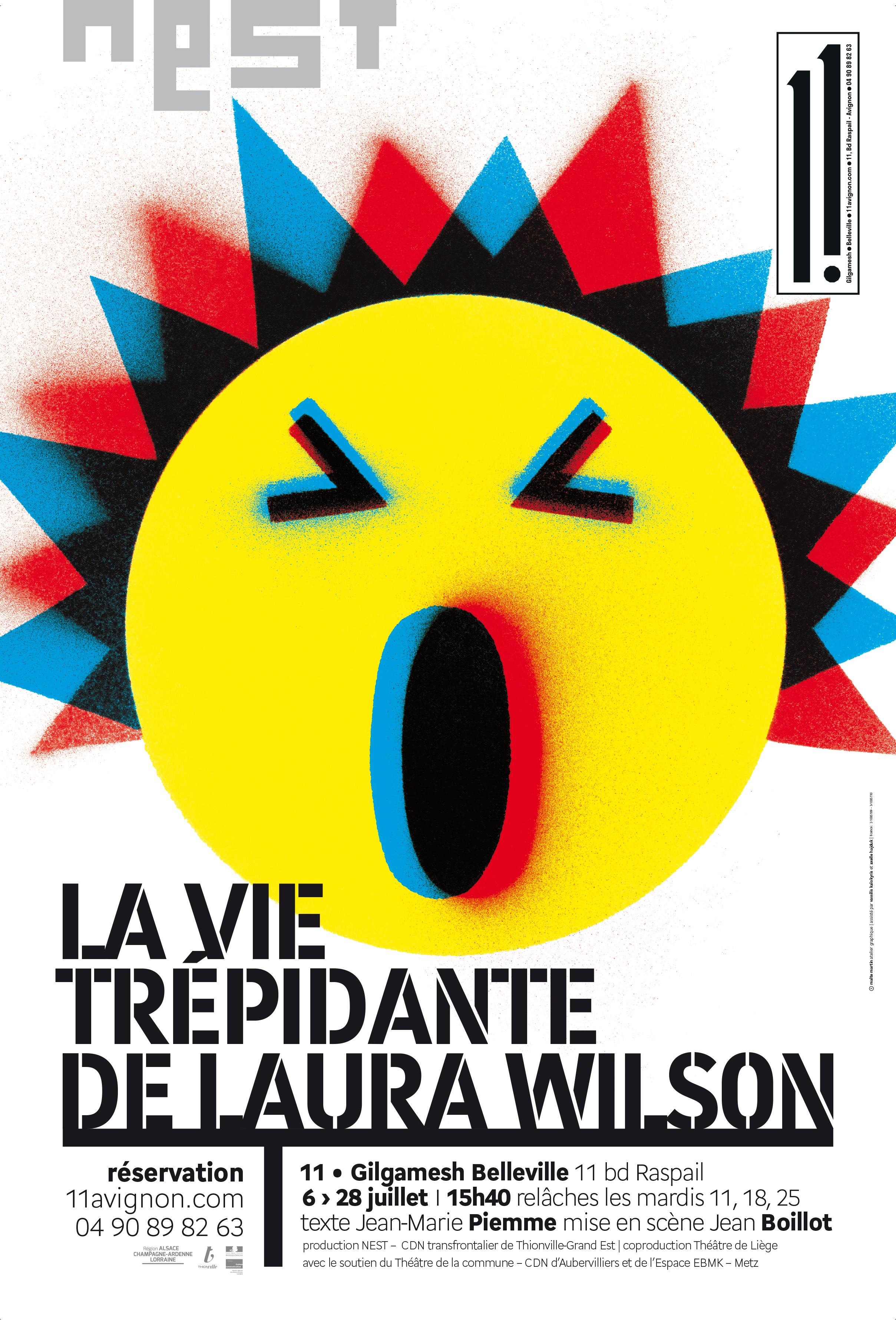 LA VIE TREPIDANTE DE LAURA WILSON