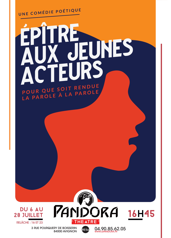 ÉPITRE AUX JEUNES ACTEURS – Cie La Joie Errante