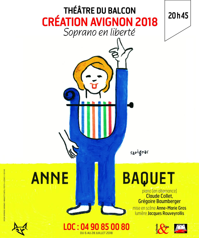 Soprano en liberté, Anne Baquet