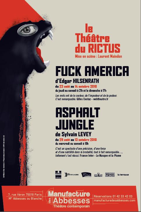 FUCK AMERICA / ASPHALT JUNGLE