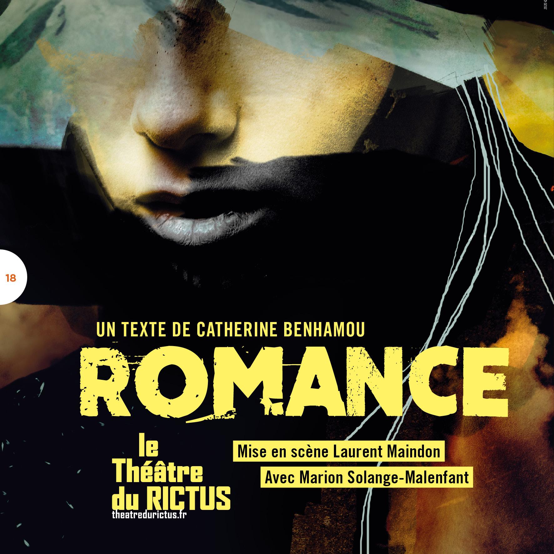 Lecture ROMANCE le 16 juillet à 16h30 au Nouveau Grenier // Avignon 21 Diffusion