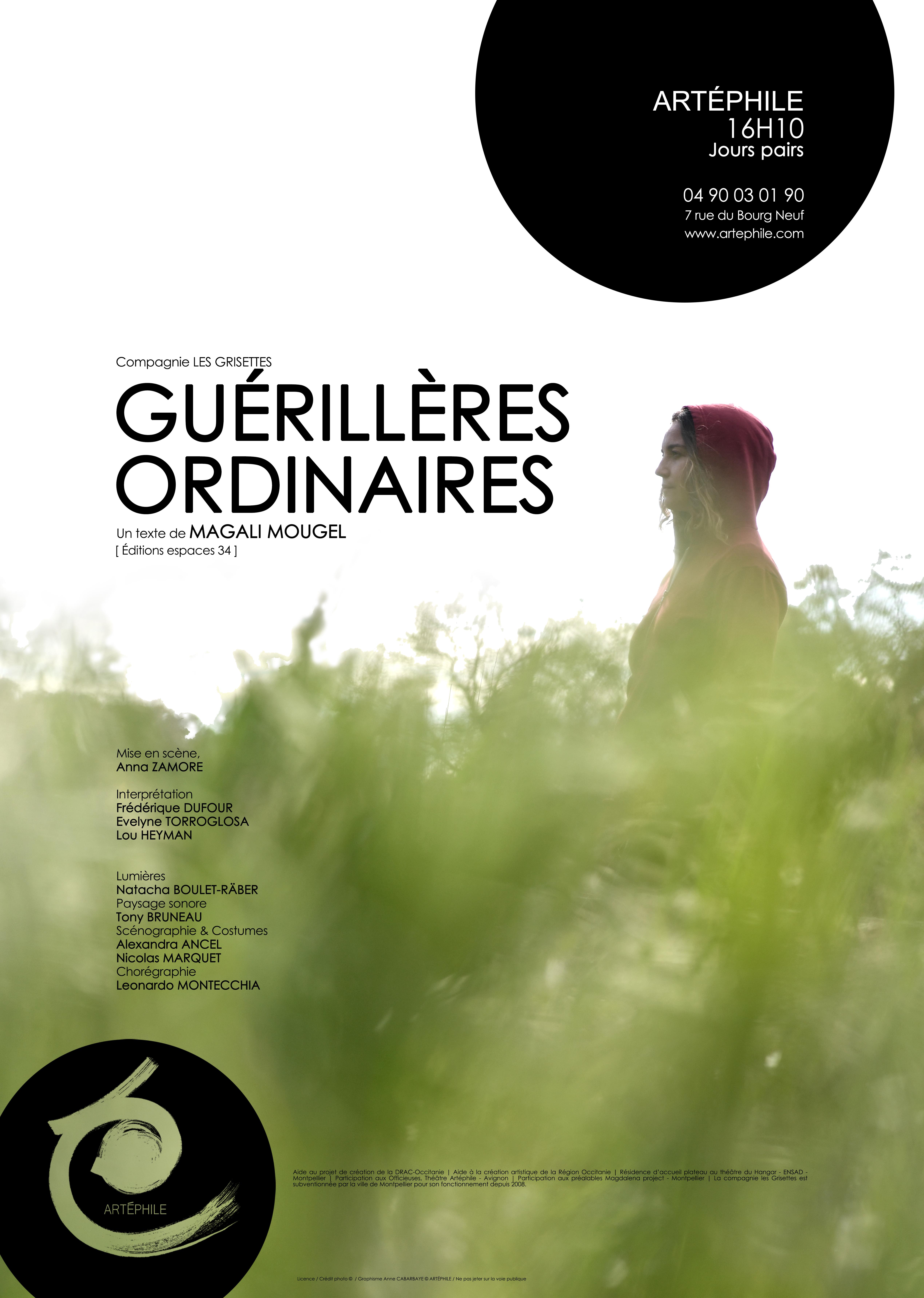 GUERILLERES ORDINAIRES                                             Avignon 21 // Diffusion